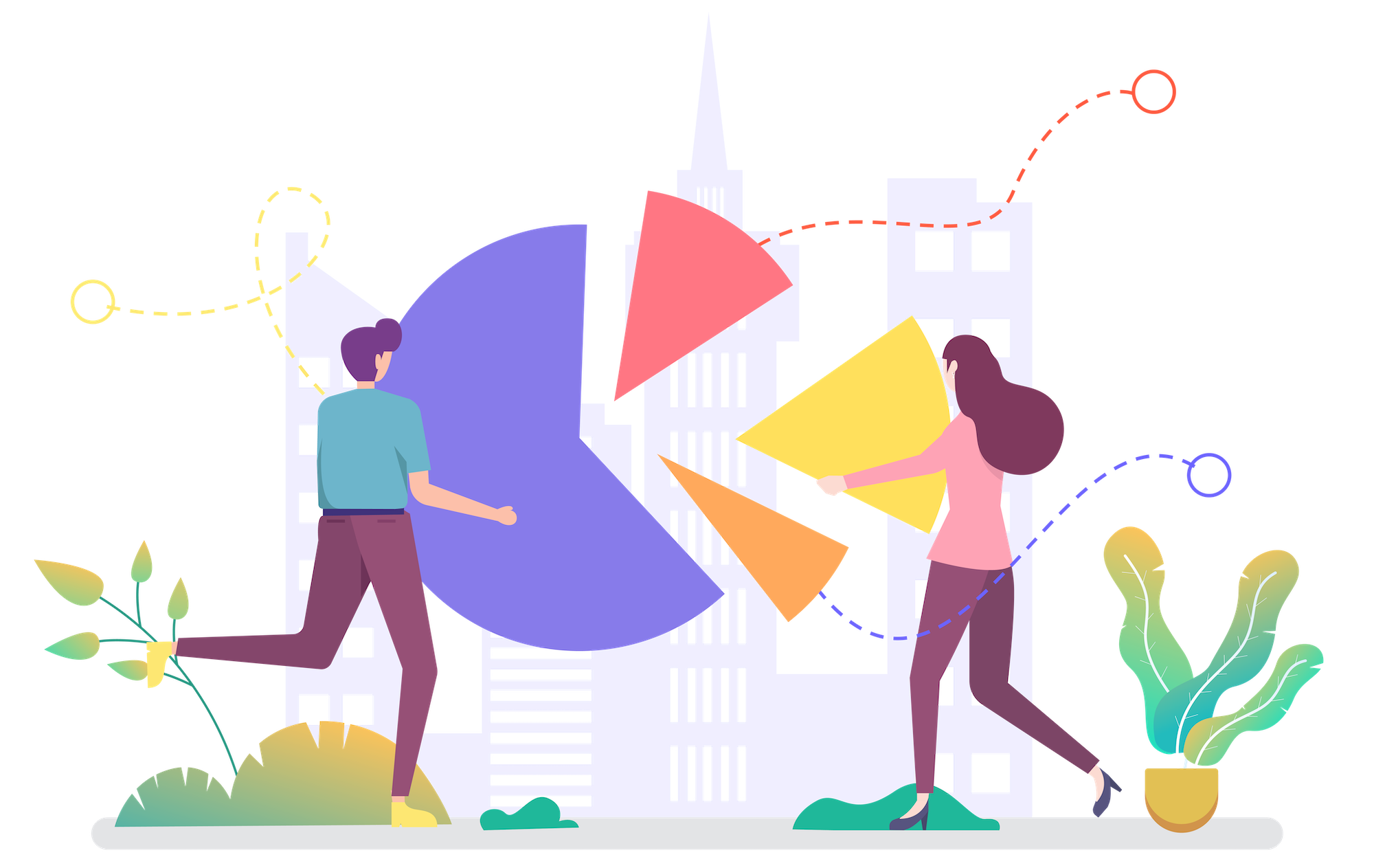 Data Analytics for a Company - Decorative image